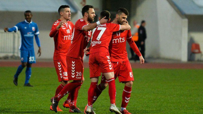 Haskić odveo Radnički posle 13 godina u polufinale Kupa