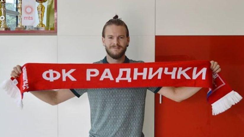 Zvanično: Batrović u Radničkom dve sezone