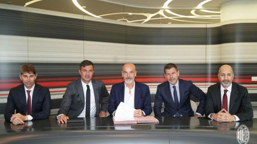 Milanovi tifozi već teraju Piolija, Gazidis podseća: Spasili smo klub od bankrotstva i Serije D