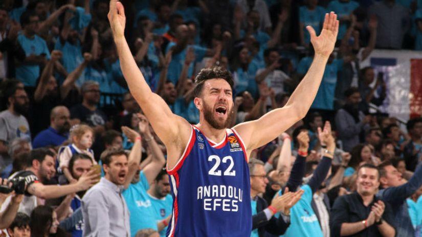 Košarkaški šou Vase Micića - 24 poena, indeks 31, bez promašaja iz igre