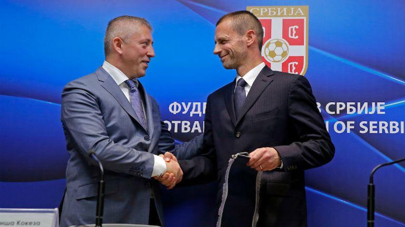 Čeferin gost Beograda: FSS i Kokeza rade prvoklasan posao
