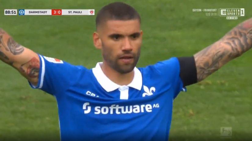 Darmštat silovit protiv Paulija, Hanover za 11 minuta od 1:2 do 4:2 (VIDEO)